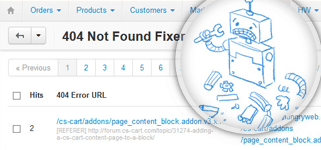 Smart 404 Not Found URL's Fixer